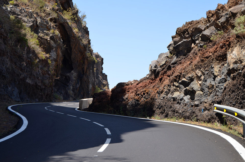 Tenerife Mountain Road