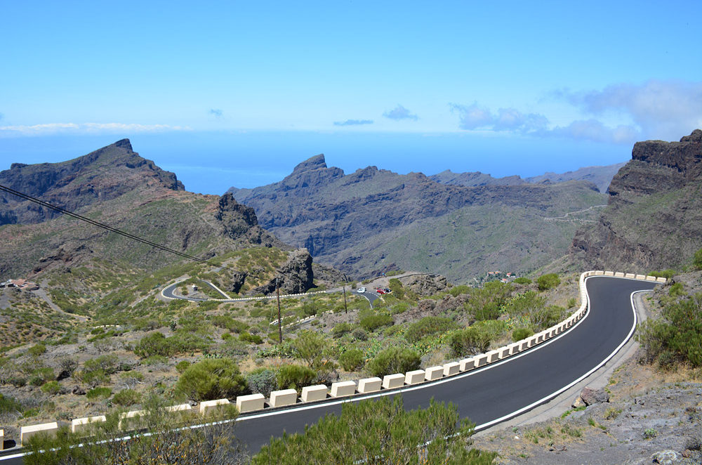 Tenerife Masca Road Biking